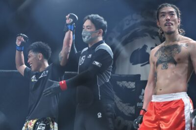 【Shooto2021#01】互いがグラつく打撃戦は祖根が判定勝ち。夜叉坊は2年ぶりのMMAを勝利で飾れず