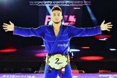 【F2W163】スリリングかつダイナミック柔術で、ケネディ・マシエルがパト・オリヴェイラに競り勝つ