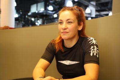 【UFC】復帰を決めたミーシャ・テイトがWEIGH IN SHOWに生出演「ガスタンクは満タンに」