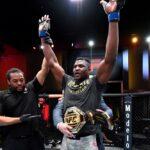 【UFC260】左ストレート、カウンターの左フック。ガヌーがミオシッチをKOし人類世界最強の座に