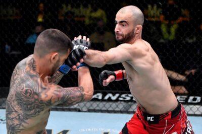 【UFC ESPN23】試合結果 イリー激勝。チカゼ&デヴァリシビリ=ジョージアンファイターが揃って6連勝