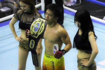 【NEXUS23】駒杵嵩大が返上したベルトを賭けて、橋本薫汰とタイガー石井でフライ級王座決定戦
