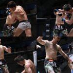 【Shooto2021#03】TD&バックを狙い続ける宇野薫を、内藤太尊が右カウンターでマットに沈める