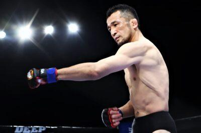 【DEEP102】フェザー級王者・牛久絢太郎に挑戦。Uと武の融合、中村大介─01─「体の中心を打ち抜く」