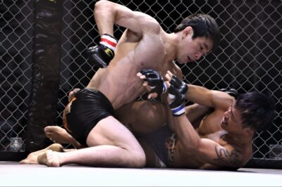 【Gladiator014】切り裂き聖帝=土井潤、中村をRNCで一蹴しバンタム級チャンプ竹本戦をアピール