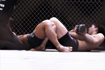 【Gladiator014】豪快スラムも八木敬志、井上啓太の内ヒールに一本負け