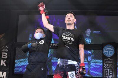 【DEEP Tokyo Impact】神田コウヤが打撃で試合をコントロール、平田直樹とのフェザー級新世代対決を制す