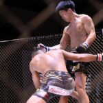 【Gladiator014】三重✖岡山の一戦は、木村が05秒でN.O.Vをヒザ蹴りKO