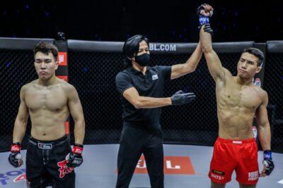 【ONE Full Blast02】試合結果 接戦が予想された一戦でユン・チャンミンがマー・ジャワンを一蹴