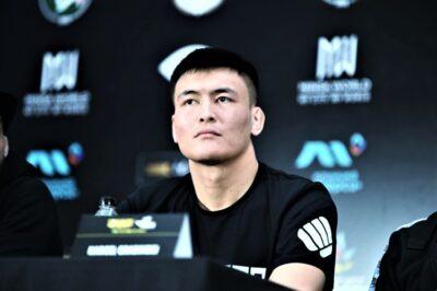 【BRAVE CF51】中央アジアの嵐。ジニス・マーヒャル戦へ、ボクシングレスラー=リナット・ゼジンタイ