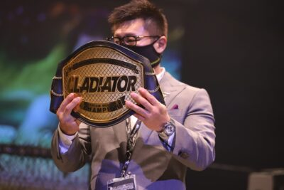【Gladiator014】「上を目指す選手たちに試合機会を」、「悔いなく戦ってほしい」櫻井雄一郎グラジ代表