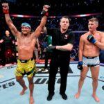 【UFC264】ドゥリーニョ、総合力──ではなく、気迫でワンダーボーイを上回り判定勝ち取る