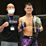 【DEEP102】防衛戦という名のリベンジマッチ、牛久絢太郎「挑戦者のつもりで挑戦者らしい試合をしたい」