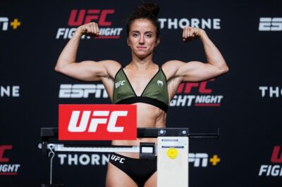 【UFC ESPN27】「本当のメイシー・バーバーが帰ってきた」。マーヴェリックと対戦─メイシー・バーバー