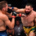 【UFC264】一瞬四次元。バック宙からマウントを取った寝技でペレイラが、プライスから逃げ切り勝利