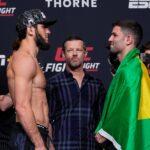 【UFC ESPN26】計量終了 ホドウフォの再起戦、プレリミ・バンタム級ウォーズ2試合に注目!!