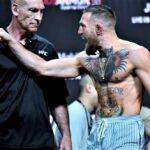 【UFC264】計量終了 マクレガー「痛みと共に代償を払うことになる」✖ポイエー「雑音、意味はない」