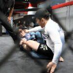 【IRE05】MMAファイター小林、1分の立ちレス~ジャンケン~寒河江のサドル&内ヒールに敗れる