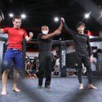 【IRE05】コンバット柔術70キロT準々決勝第1試合は、杉本孝がRNCで高橋秀彰を一蹴