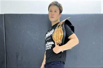 【DEEP103】DEEP初出場、DJ.taikiと対戦──関鉄矢─01─「最初は格闘技を舐めていました」