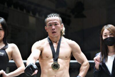 【Shooto2021#06】やはり激闘、後藤に競り勝った石橋佳大「自分のフィールドで戦うことができた」