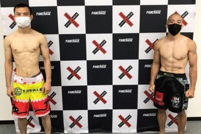 【Pancrase324】タイトル挑戦権獲得に向け、野田遼介戦直前の山北渓人「僕には攻め疲れはない」