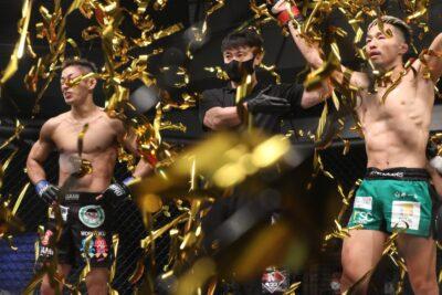 【Road to ONE05】「これも格闘技だから!」国内フライ級トップ対決は和田竜光が竹中との接戦を制す