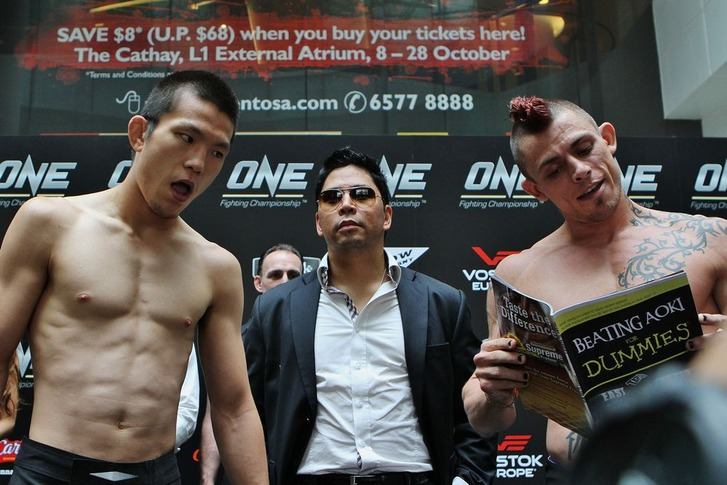 OFC06 weighin
