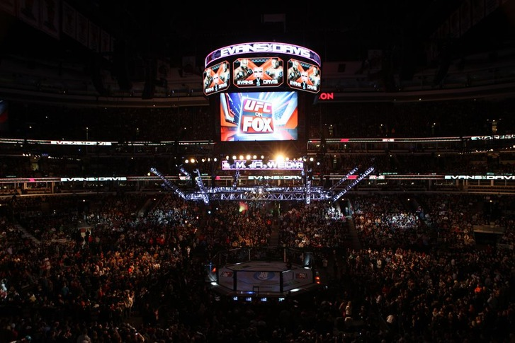 UFC FOX02 in Chicago IL