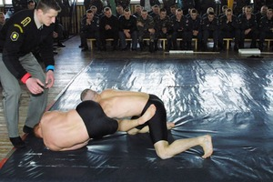 Sub-wrestle in army