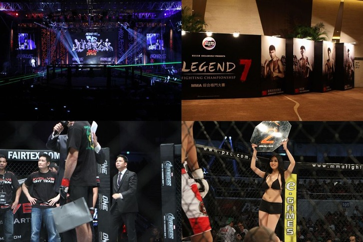RFC, LFC, OFC & PXC ASIAN MMAevents