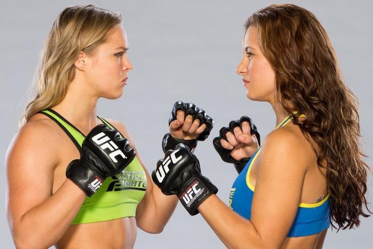 TUF18 Rousey vs Tate