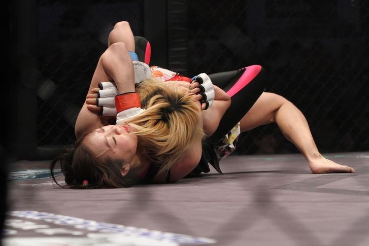 Celine Haga vs Masako Yoshida
