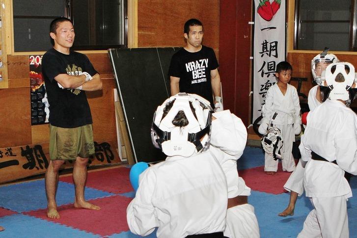 Tamura in Ichigo Club