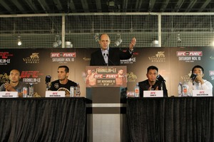 UFC MACAO Press Conference