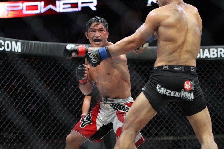 Folayang vs Sharous
