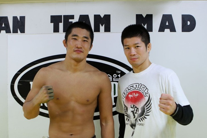 Kim Dong hyun & Hioki