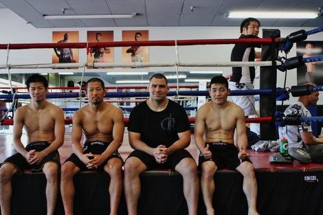 Hioki, Goono, Velasquez, Uematsu and Mori-san