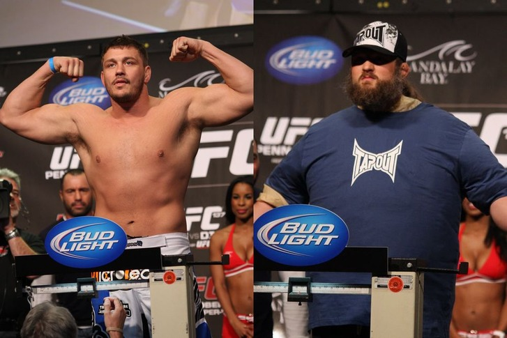Mitrione vs Nelson