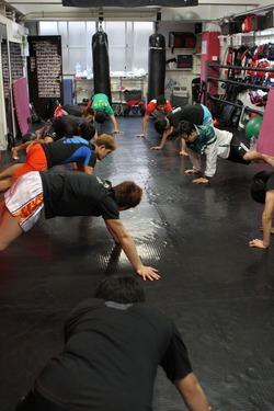 Take Training in Ground Slam