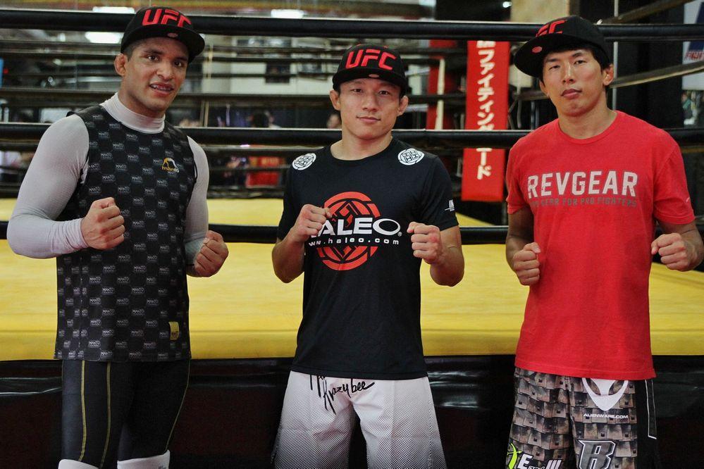 Branco, Horiguchi & Mizu... 【UFC】真騎士、堀口恭司&am