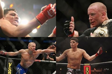 GSP vs Diaz at UFC137