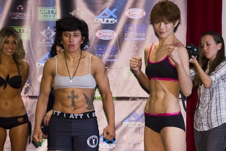 Ediane Gomes vs Hiroko