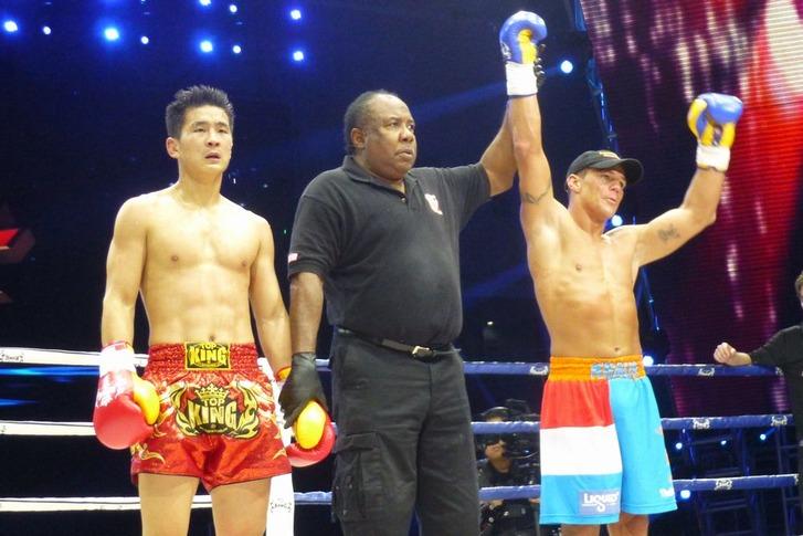 Wu Lin Feng 70kg champ Albert Kraus