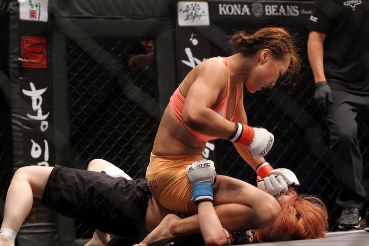 Song Hyo-Kyung vs Kimura