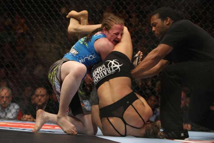 Best Submission #01 Ronda Rousey vs Sara Kaufman