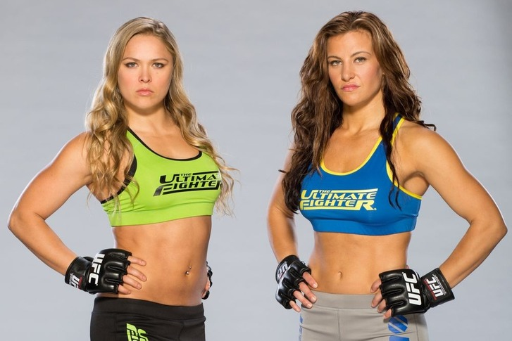 Rousey vs Tate