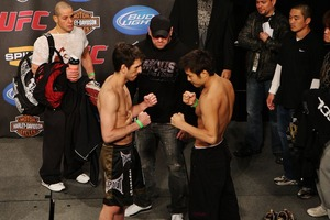 KenFlo vs Gomi weigh-in