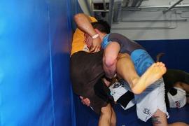 Spar with D-1 Wrestler