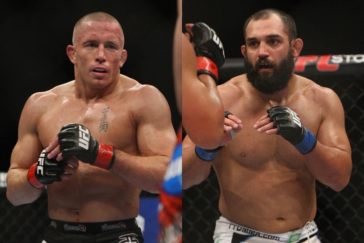 GSP vs Hendricks